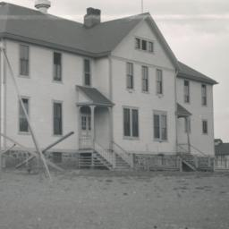 Dormitory, Pyramid Lake Res...
