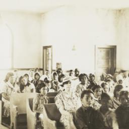 Interior of the Methodist E...