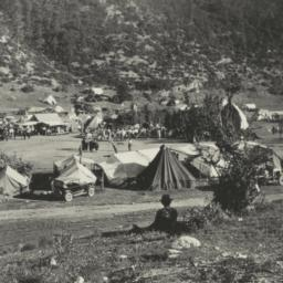 Indians Gathered in Camp fo...