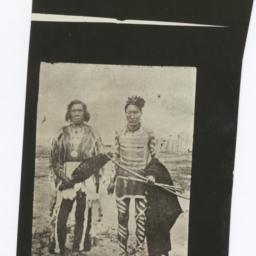 Two Native American Men Wea...