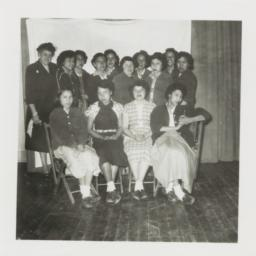 Class Photo, College Age an...
