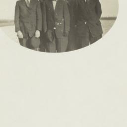 Five Men Standing in a Fiel...