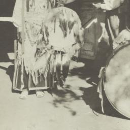 American Indian Man with Dr...