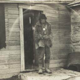 John Blue Cloud and His Home