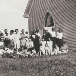 Group Photograph outside a ...