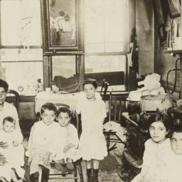 Mother with Eight Children ...