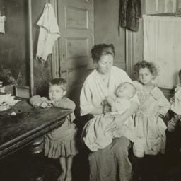 Mother and Four Children in...