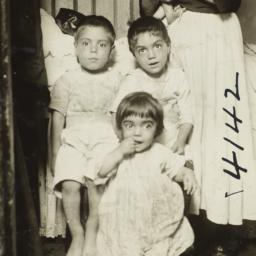 Family in Doorway