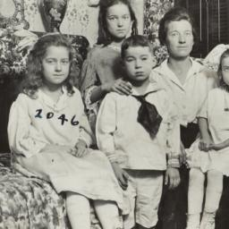 Woman  with Five Children