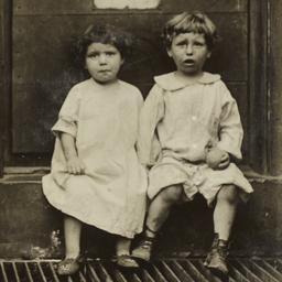 Children on Grate