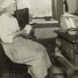 Old Woman near Stove