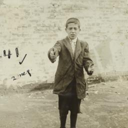 Boy with Outstretched Arms