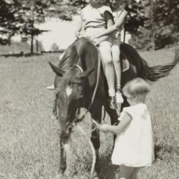 Girls on Horse