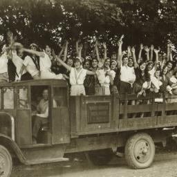 Girls in Ward Manor Truck