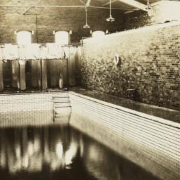 Interior of Jersey City Pool