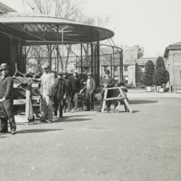 Men near Benches at New Yor...