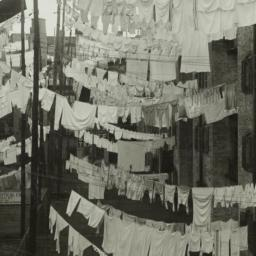 Clothes Drying in Tenement ...