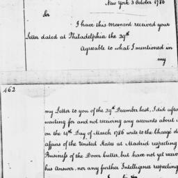 Document, 1786 October 03