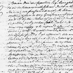 Document, 1779 July 31