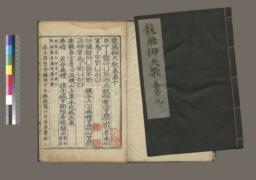 Cover and unknown page of volumes 9 and 10