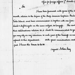 Document, 1788 March 07