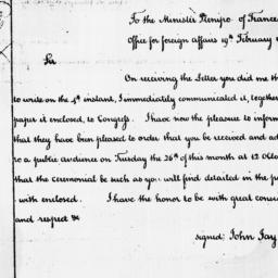 Document, 1788 February 19