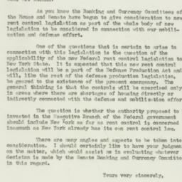 Letter: 1951 April 24