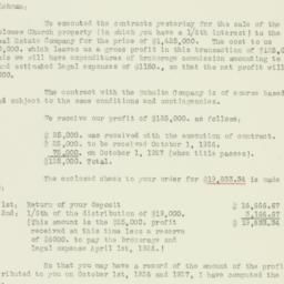 Letter: 1926 January 20