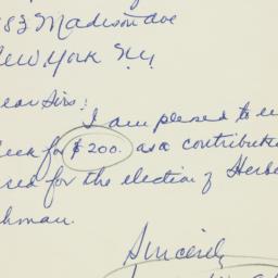Letter: 1949 October 28