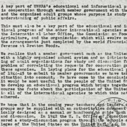 Letter: 1944 August 1