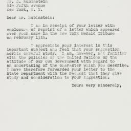 Letter: 1951 March 19
