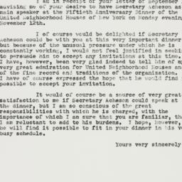 Letter: 1951 September 20