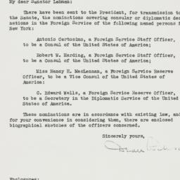 Letter: 1950 January 13