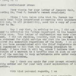 Letter: 1955 February 1