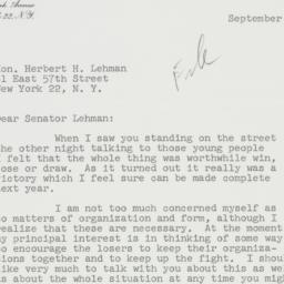 Letter: 1959 September 16