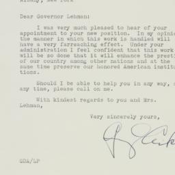 Letter: 1940 November 30