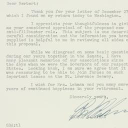 Letter: 1956 December 31
