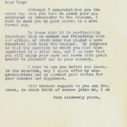 Letter: 1961 April 20