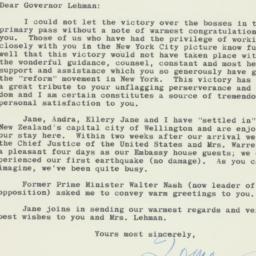 Letter: 1961 September 20
