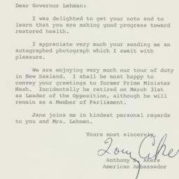 Letter: 1963 April 16
