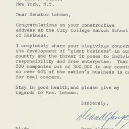 Letter: 1957 April 3