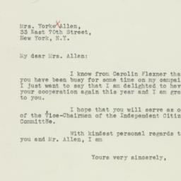 Letter: 1936 September 25