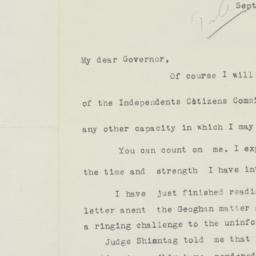 Letter : 1936 September 28