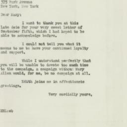 Letter: 1946 September 20