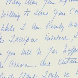 Letter: 1949 September 1