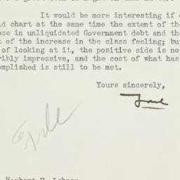 Letter: 1934 October 8