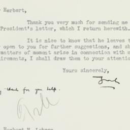 Letter: 1934 October 15