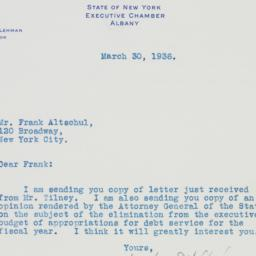 Letter: 1936 March 30