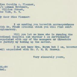 Letter: 1937 December 1