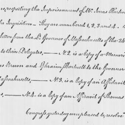 Document, 1785 March 19